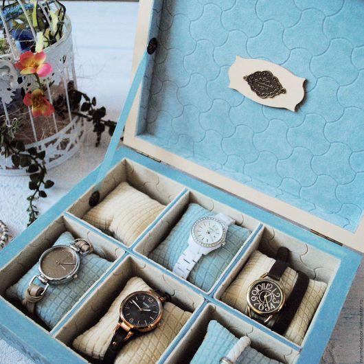 """Шкатулки ручной работы. Ярмарка Мастеров - ручная работа. Купить Шкатулка для хранения часов """"Винтаж"""". Handmade. Комбинированный, дорогие подарки"""