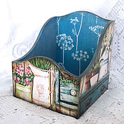 Для дома и интерьера handmade. Livemaster - original item Box for spices Mediterranean. Handmade.
