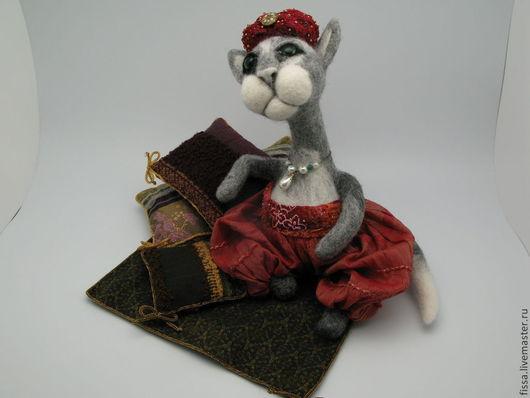 Коллекционные куклы ручной работы. Ярмарка Мастеров - ручная работа. Купить Султан кот. Handmade. Кукла ручной работы, восток