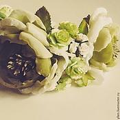 """Украшения ручной работы. Ярмарка Мастеров - ручная работа Ободок для волос """"Лесная нимфа..."""". Handmade."""