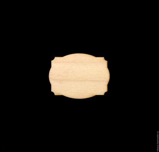 Декупаж и роспись ручной работы. Ярмарка Мастеров - ручная работа. Купить Арт. Я-013 Медальон-накладка (бирка). Handmade.