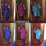 """Одежда ручной работы. Ярмарка Мастеров - ручная работа Вязаное шерстяное пальто """"Рис"""". Handmade."""