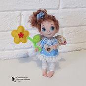 Куклы и игрушки handmade. Livemaster - original item Textile doll Flower angel. Handmade.