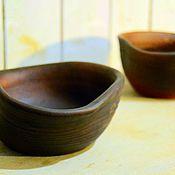 Посуда ручной работы. Ярмарка Мастеров - ручная работа глиняные миски. Handmade.