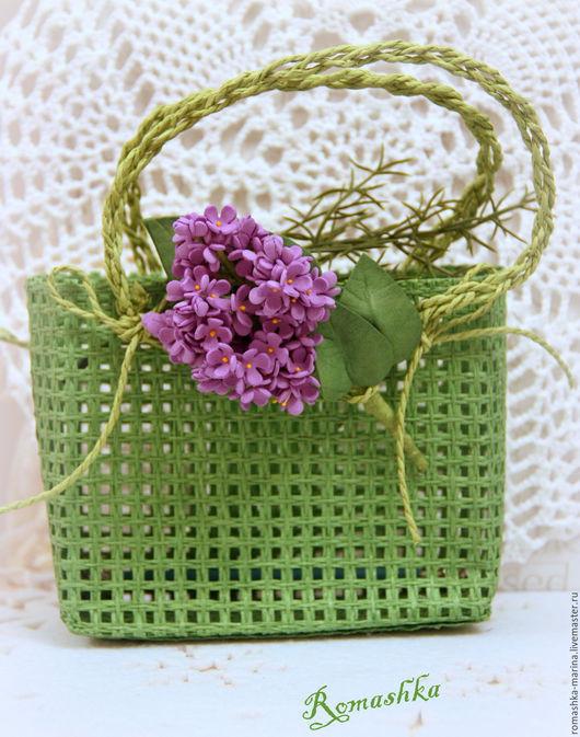 `Веточка сирени`  из фоамирана прекрасно украсят Ваш образ и подарят Весну  и отличное настроение! Работа Покусаевой Марины (Romashka)