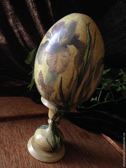 пасхальное яйцо на подставке из модулей фото
