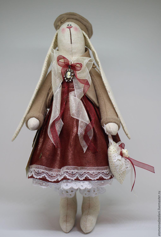 Коллекционные куклы ручной работы. Ярмарка Мастеров - ручная работа. Купить Интерьерная зайка СОФИЯ. Handmade. Тильда, коллекционная игрушка