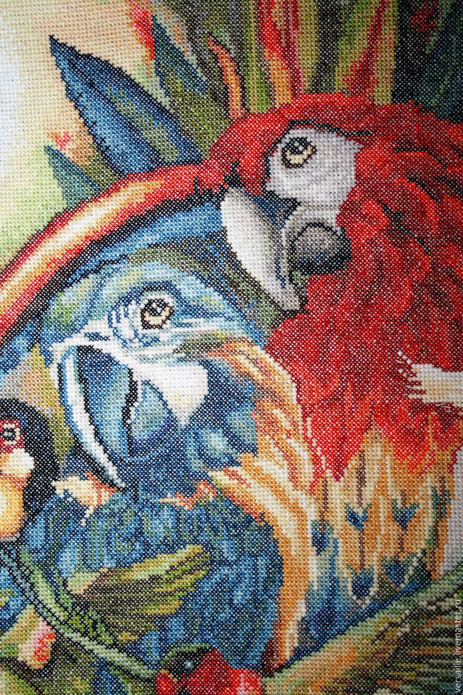 Вышивка птичий совет 35