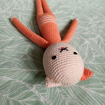 Куклы и игрушки ручной работы. Ярмарка Мастеров - ручная работа Котик Котя, кот вязаный игрушка. Handmade.