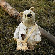 Игрушки ручной работы. Ярмарка Мастеров - ручная работа Тедди медведь Ермоша. Handmade.