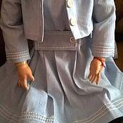 Куклы и игрушки ручной работы. Ярмарка Мастеров - ручная работа Платье (костюм)  для куклы № 1. Handmade.