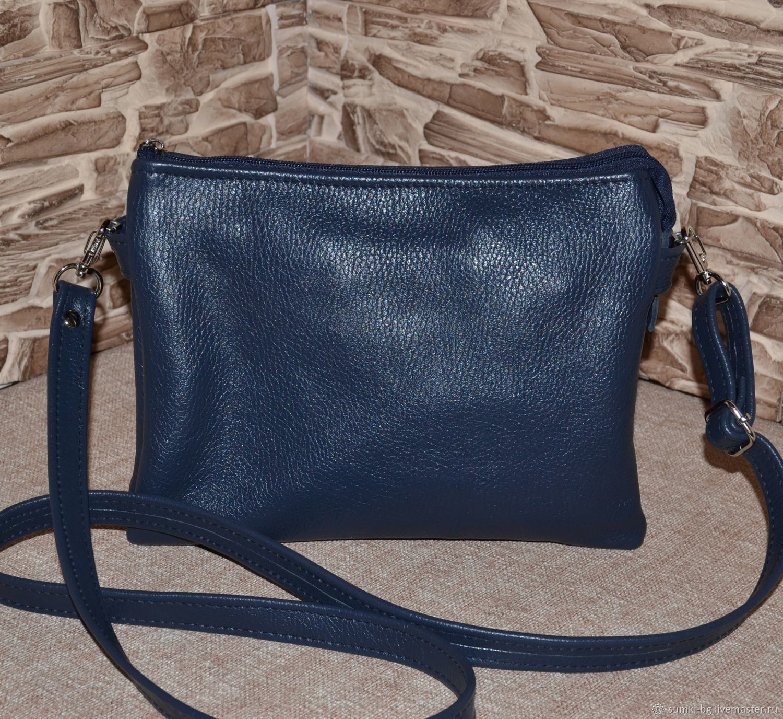 Handbags handmade. Livemaster - handmade. Buy Leather bag leather Handbag for each day Model 505.Bag