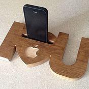 Для дома и интерьера ручной работы. Ярмарка Мастеров - ручная работа Подставки для телефонов. Handmade.