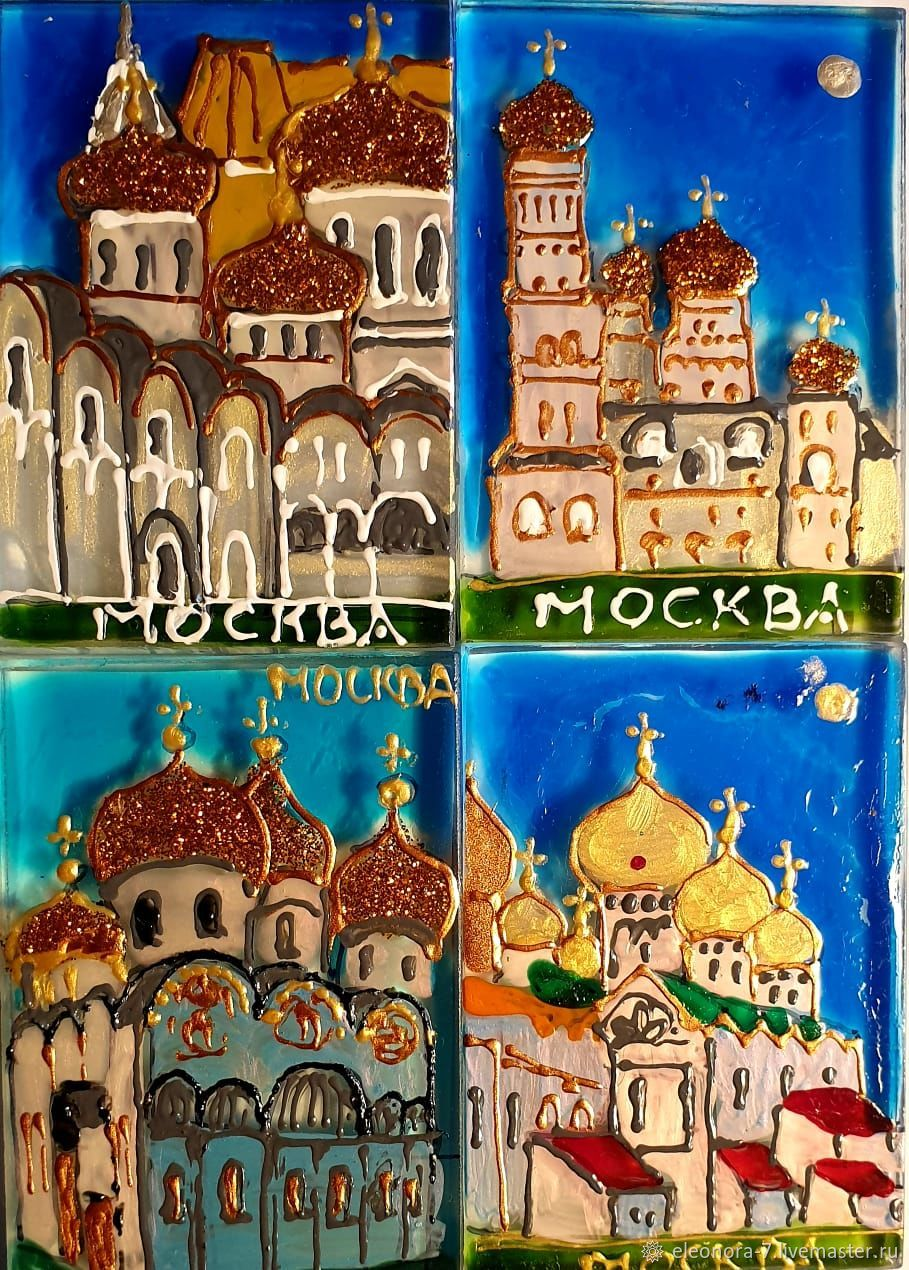 Церкви в Москве, Магниты, Москва,  Фото №1