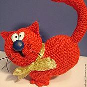 Куклы и игрушки ручной работы. Ярмарка Мастеров - ручная работа Сердешный кот. Handmade.
