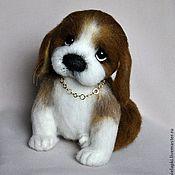 """Подарки к праздникам ручной работы. Ярмарка Мастеров - ручная работа """"Эшли"""" щеночек. Handmade."""