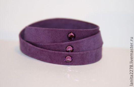 """Браслеты ручной работы. Браслет-намотка """"Violet"""". Lanita Design. Ярмарка Мастеров."""