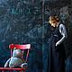 """Платья ручной работы. Ярмарка Мастеров - ручная работа. Купить Платье и платье-передник для будущих мам """"В строгой форме"""". Handmade."""