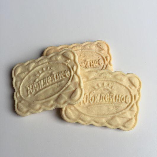 Мыло ручной работы. Ярмарка Мастеров - ручная работа. Купить Мыло печенье юбилейное. Handmade. Бежевый, мыло, мыльный набор