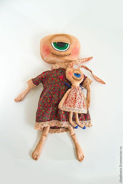 Ароматизированные куклы ручной работы. Ярмарка Мастеров - ручная работа. Купить Монстрик. Handmade. Игрушка ручной работы, подарок, хлопок