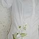 Блузки ручной работы. вышитая шелком блузка. валентина (ketmir). Интернет-магазин Ярмарка Мастеров. Вьюнок