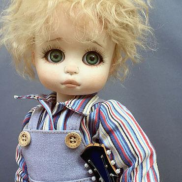 Куклы и игрушки ручной работы. Ярмарка Мастеров - ручная работа Ребенок фарфоровая шарнирная кукла. Handmade.