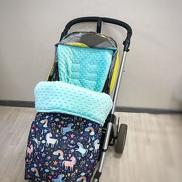 Товары для малышей ручной работы. Ярмарка Мастеров - ручная работа Конверт в прогулочную коляску (коляску трость). Handmade.