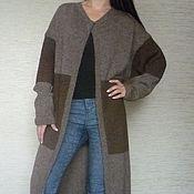 Одежда ручной работы. Ярмарка Мастеров - ручная работа Пальто в стиле оверсайз. Handmade.