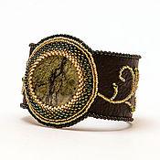 Украшения ручной работы. Ярмарка Мастеров - ручная работа Браслет со змеевиком. Handmade.