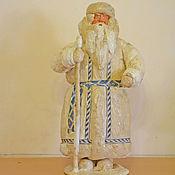 Винтаж ручной работы. Ярмарка Мастеров - ручная работа Дед Мороз советский. Вата. Handmade.