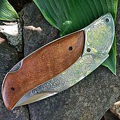 Сувениры и подарки handmade. Livemaster - original item Folding knife