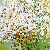Картины ручной работы. Ярмарка Мастеров - ручная работа Букет на счастье-интерьерная картина ромашки. Handmade.