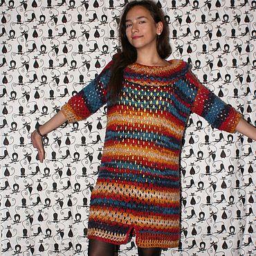 Одежда ручной работы. Ярмарка Мастеров - ручная работа Платья: Платье - туника. Handmade.