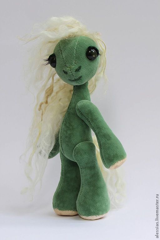 Игрушки животные, ручной работы. Ярмарка Мастеров - ручная работа. Купить Авторская  коллекционная игрушка пони -по имени  Лесная - аля - винтаж. Handmade.