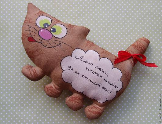 """Ароматизированные куклы ручной работы. Ярмарка Мастеров - ручная работа. Купить Кофейная игрушка """"Кот"""". Handmade. Кот, сувенир"""