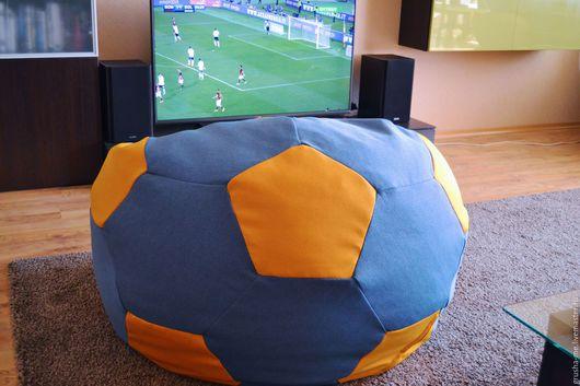 """Мебель ручной работы. Ярмарка Мастеров - ручная работа. Купить Кресло-мяч """"Черепашка"""" из жаккарда. Handmade. Комбинированный, волейбольный мяч"""