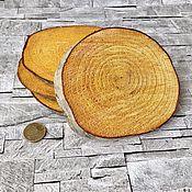 Материалы для творчества ручной работы. Ярмарка Мастеров - ручная работа Спил дерева большой Ольха и Черемуха. Handmade.