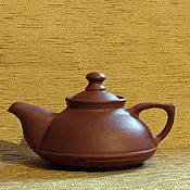 """Посуда ручной работы. Ярмарка Мастеров - ручная работа чайник керамический """"НЛО"""". Handmade."""