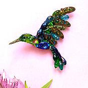Украшения handmade. Livemaster - original item mini Hummingbird. Handmade.