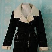 """Одежда ручной работы. Ярмарка Мастеров - ручная работа Пальто дублёнка овчина """"Классика"""". Handmade."""