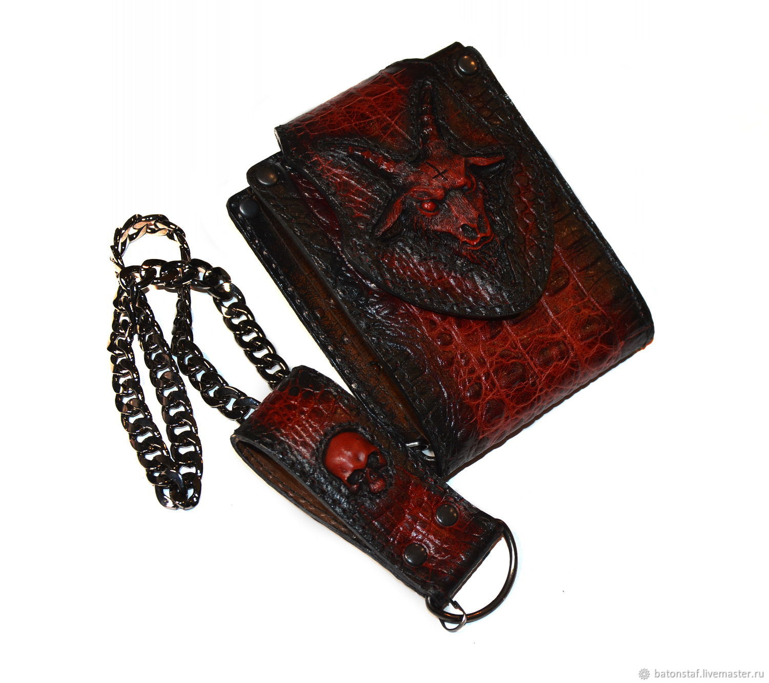 Red wallet, Accessories, Moscow,  Фото №1