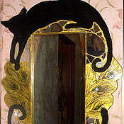 Для дома и интерьера ручной работы. Ярмарка Мастеров - ручная работа Зеркало от плохих примет. Handmade.