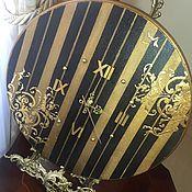 Для дома и интерьера ручной работы. Ярмарка Мастеров - ручная работа Часы настенные Арт-деко золото. Handmade.