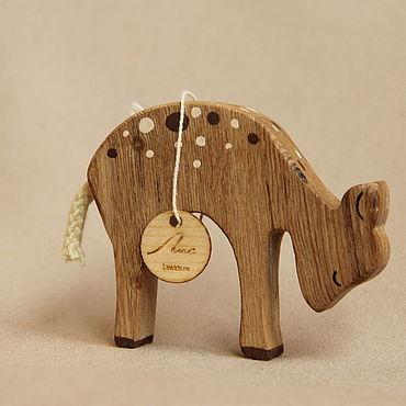 Деревянная игрушка - Бэмби