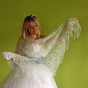 Свадебный салон ручной работы. Ярмарка Мастеров - ручная работа Свадебная шаль из мохера Ласточка. Handmade.