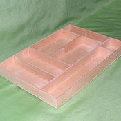 Для дома и интерьера ручной работы. Ярмарка Мастеров - ручная работа Лоток (вставка в ящик) для столовых приборов. Handmade.