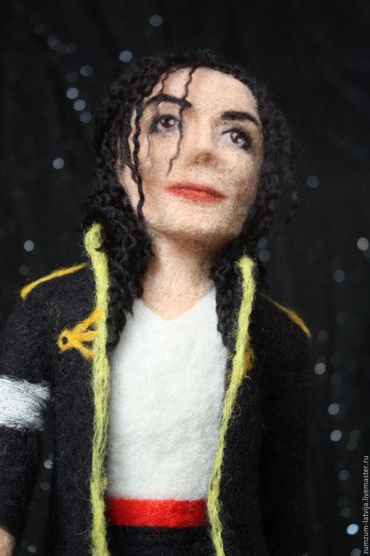 Портретные куклы ручной работы. Ярмарка Мастеров - ручная работа. Купить портретная кукла Майкл. Handmade. Черный, танец, космос
