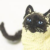 """Куклы и игрушки ручной работы. Ярмарка Мастеров - ручная работа фигурка """"кошечка"""" (кот,  кошка). Handmade."""