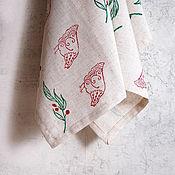 Для дома и интерьера handmade. Livemaster - original item Linen towels for the kitchen