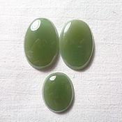 Материалы для творчества handmade. Livemaster - original item Cabochons jade. Handmade.